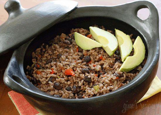 Arroz Congri (Cuban Rice and Black Beans)                    Skinnytaste