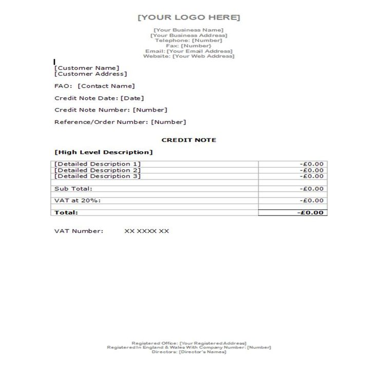 Example Credit Note Document Templates \ Examples Pinterest - credit note sample format