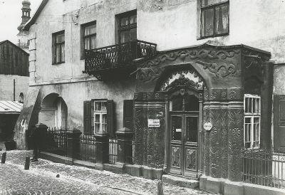 ul. Daniłowskiego przed 1939 r. neg. PAN