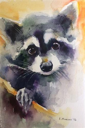 "Daily Paintworks - ""Wildlife3"" - Original Fine Art for Sale - © Katya Minkina"