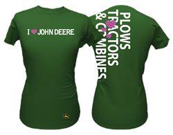 I Love John Deere Tshirt