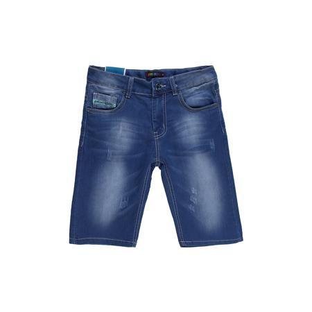 Luminoso Бриджи для мальчика Luminoso  — 1290р. ---------------- Стильные джинсовые шорты на мальчика, четыре кармана, отличный вариант на каждый день, декорированы потертостями. Состав: 98% хлопок 2%эластан