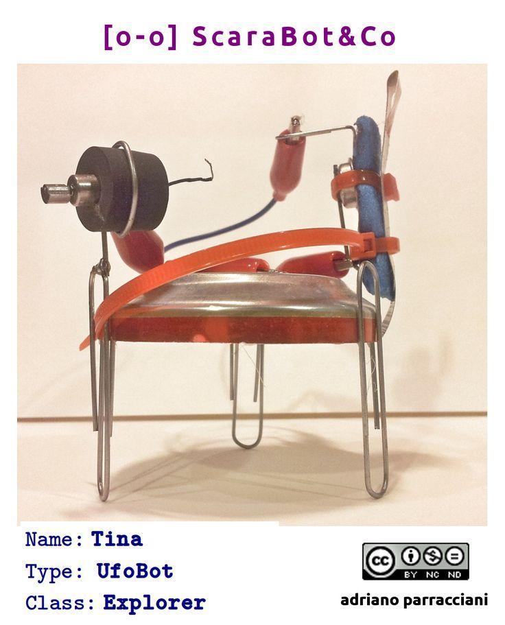 Tina - UfoBot #tinkering