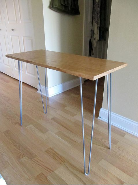 1000 images about diy table leg on pinterest for Cheap hairpin legs