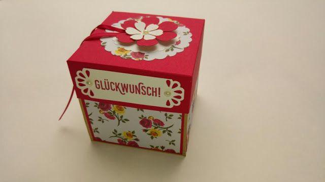 #StampinUp! #Explosionsbox #Geburtstagsbox #Giftbox #Gutscheinbox #HappyBirthday #birthdaypresent