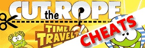 Cut The Rope Time Travel Cheats Guide & Walkthrough