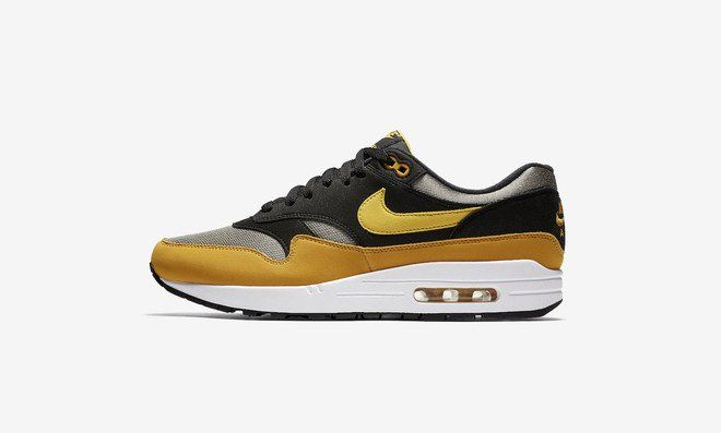 Une Nike Air Max 1 Black Yellow pour 2018