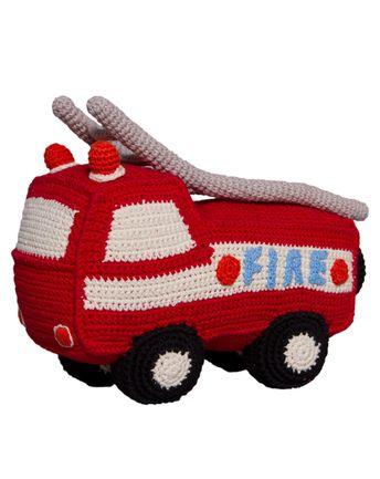 Häkel Feuerwehrauto 26 Cm Feuerwehrautos Häkeln Und Diy Und