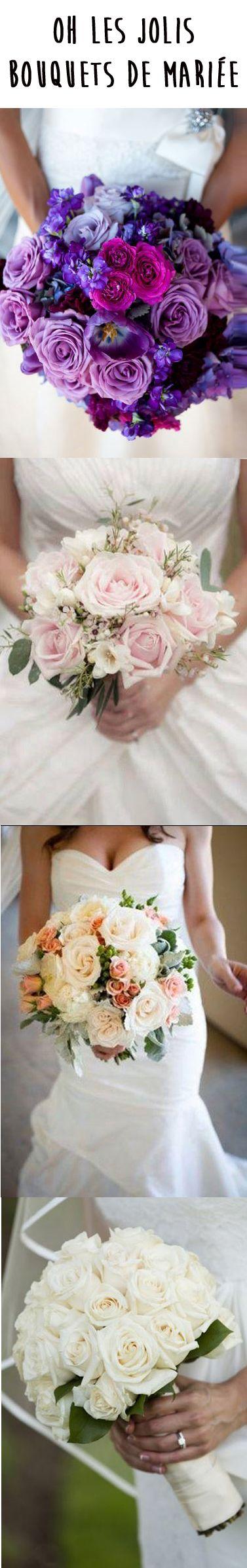 Le bouquet de mariée, l'accessoire indispensable pour votre mariage.