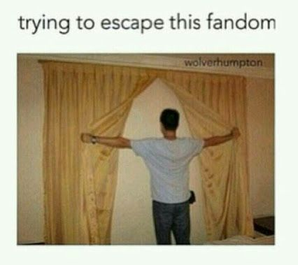 trying to escape from my fandoms ;)
