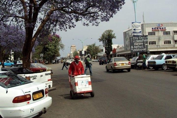 Street scene, Bulawayo