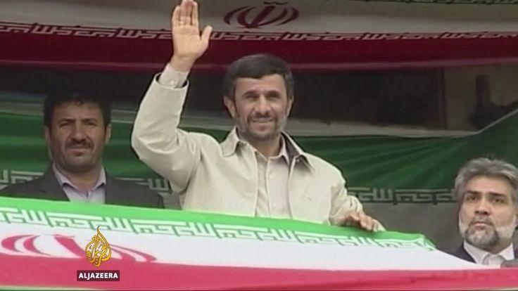 Iran elections: Ahmadinejad registers to run for president
