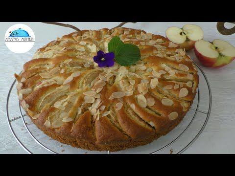 Kremalı Elmalı Pasta Tarifi -az malzemeli nefis bir Tat▪Masmavi3mutfakta▪ - YouTube