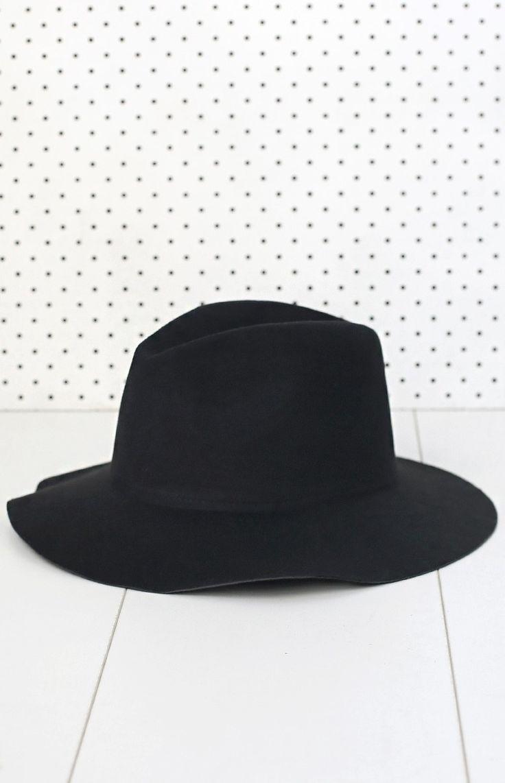 Hudson Hat Black #BBFEST #beginningboutique