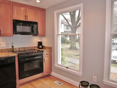 Paint Color To Go With Maple Cabinets Sherwin Williams March Wind A Pale Gray From BonnieProjects