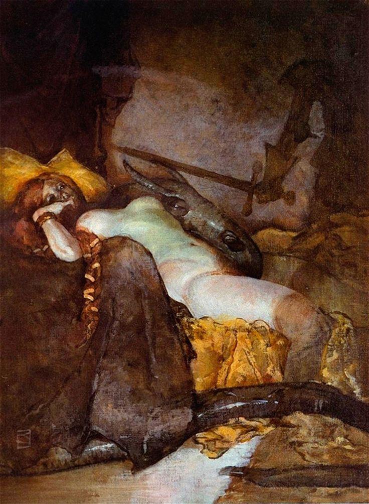 """la-petite-mort-69:""""Dragon Slayer"""" -... http://viktor-sbor.tumblr.com/post/159848044750/la-petite-mort-69-dragon-slayer-jeffrey by http://apple.co/2dnTlwE"""
