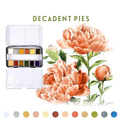 Prima Marketing Bacs A Peinture Aquarelle The Decadent Pies De