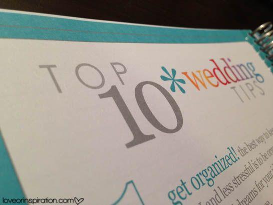 Erin Condren Wedding Planner Review | See post @ loveorinspiration.com #LIblog