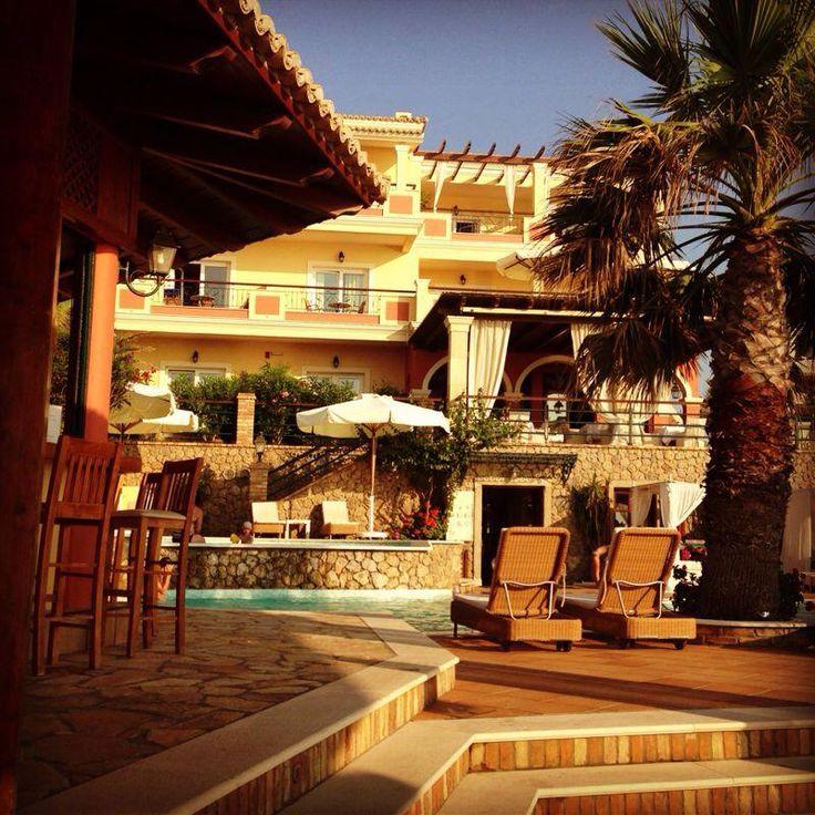 Your hotel from the Poolbar terras-Thessa Verrijdt-de Bont... #DelfinoBlu