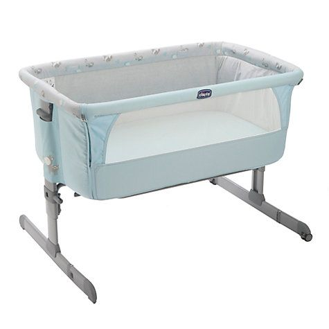 Buy Chicco Next To Me Crib, Sky Online at johnlewis.com