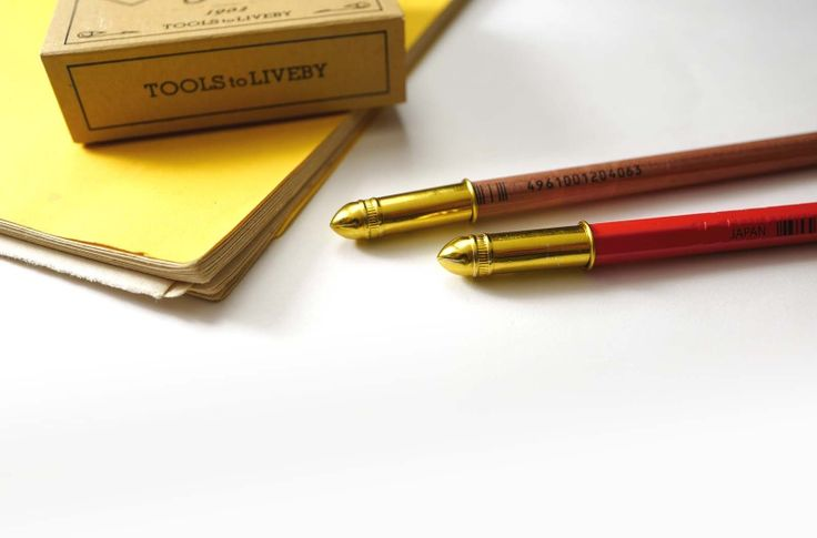 Pencil Cap (gold) | TOOLS to LIVEBY