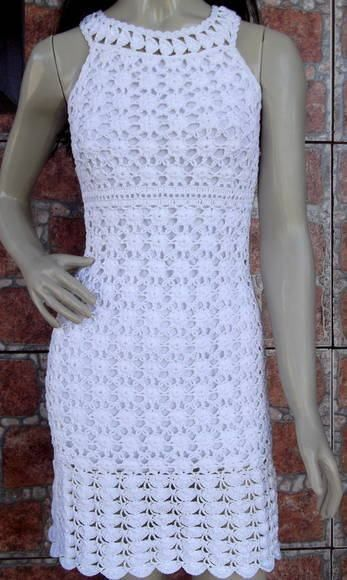 vestido de crochê 1