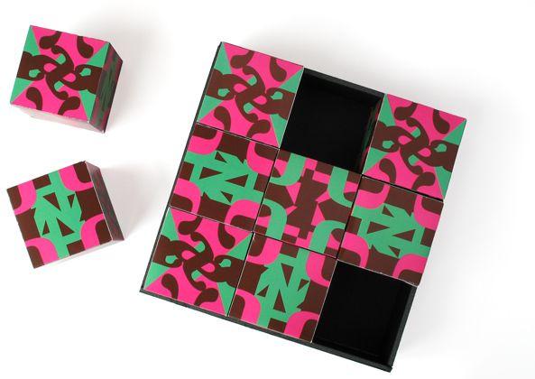 The Cube Project - Alex Ambrose   Graphic Designer