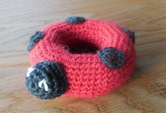 Ladybug for stacking toy http://www.pinterest.com/pin/170503535865742761/
