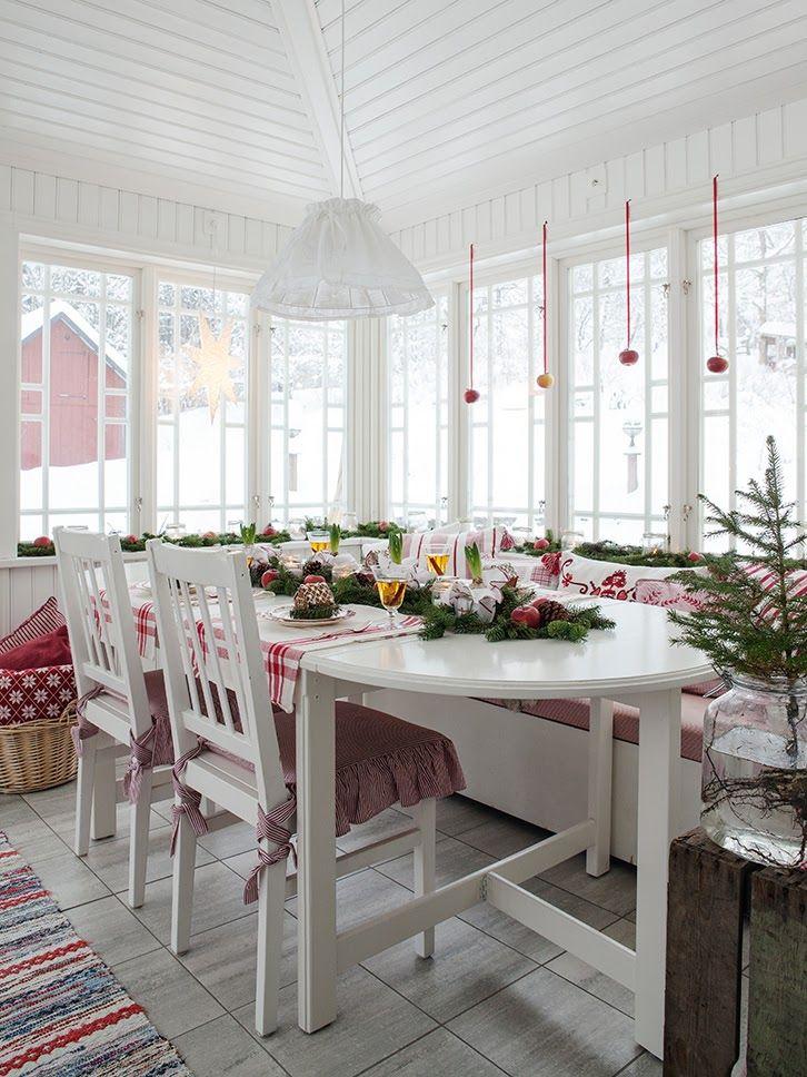 дневник дизайнера: Рождество в скандинавском стиле