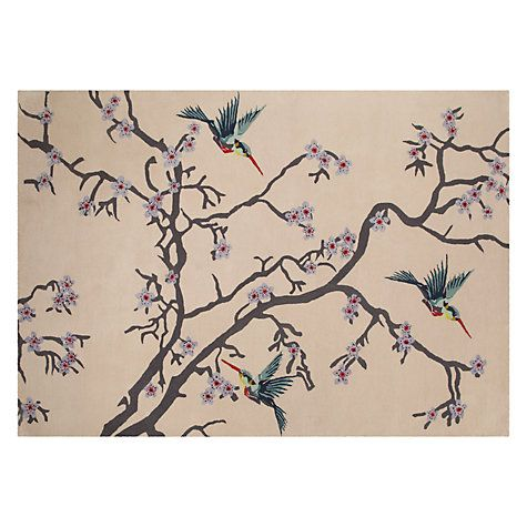 Buy Wendy Morrison for John Lewis Blossom Tree Rug, Pink Online at johnlewis.com