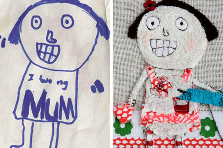 The quality of this embroidery of your childs pictures is amazing! Look at the other samples!