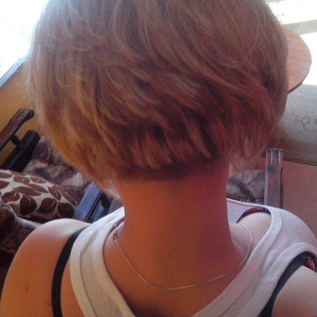 ;) . . . . . . #new #haircut #bob #baleyage #short #blond #girl #ja #my #hair #zloootko
