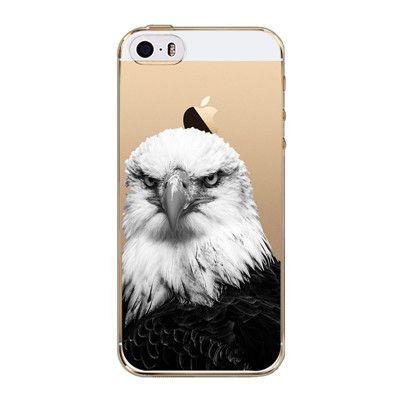 Phone Case For Apple iphone 4 4s 5 5s SE 5C 6 6s 6 plus Cute Owl Rabbit Cat Soft Sillicon Transparent TPU Cellphone Back Cover