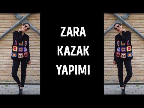 ZARA İLHAMLI ÖRGÜ KAZAK YAPIMI / KNIT ZARA INSPIRED PULLOVER - YouTube