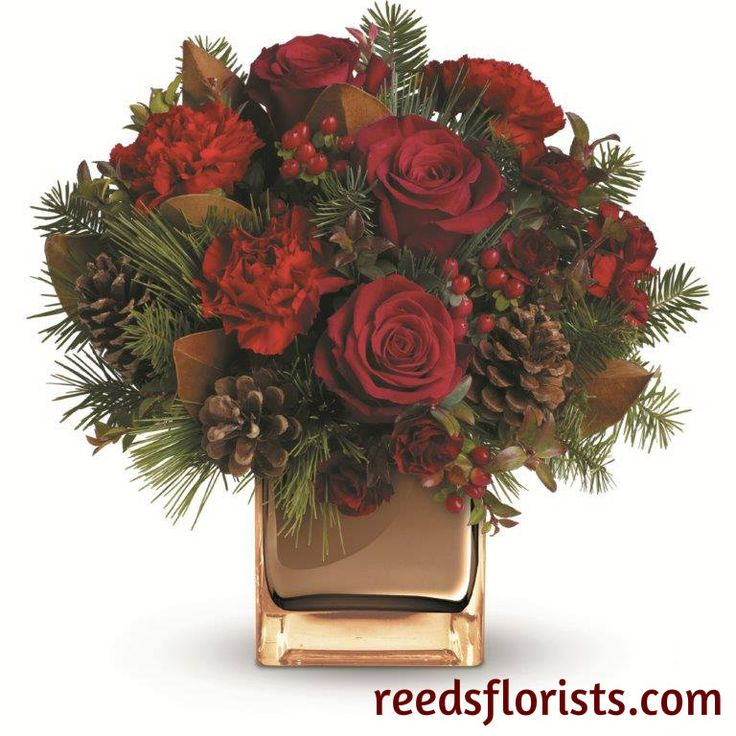 21 best Christmas Flowers, Arrangements and Gifts images on ...