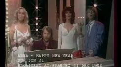 "ABBA - ""Happy New Year"" & Sketch in French TV show 'Sur Son 31' - 31. December 1980 - France 2"