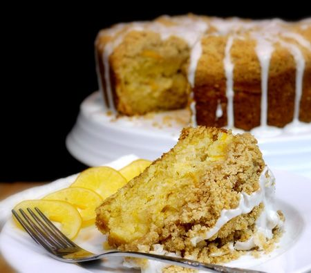 Meyer Lemon Coffee Cake | Recipes | Pinterest