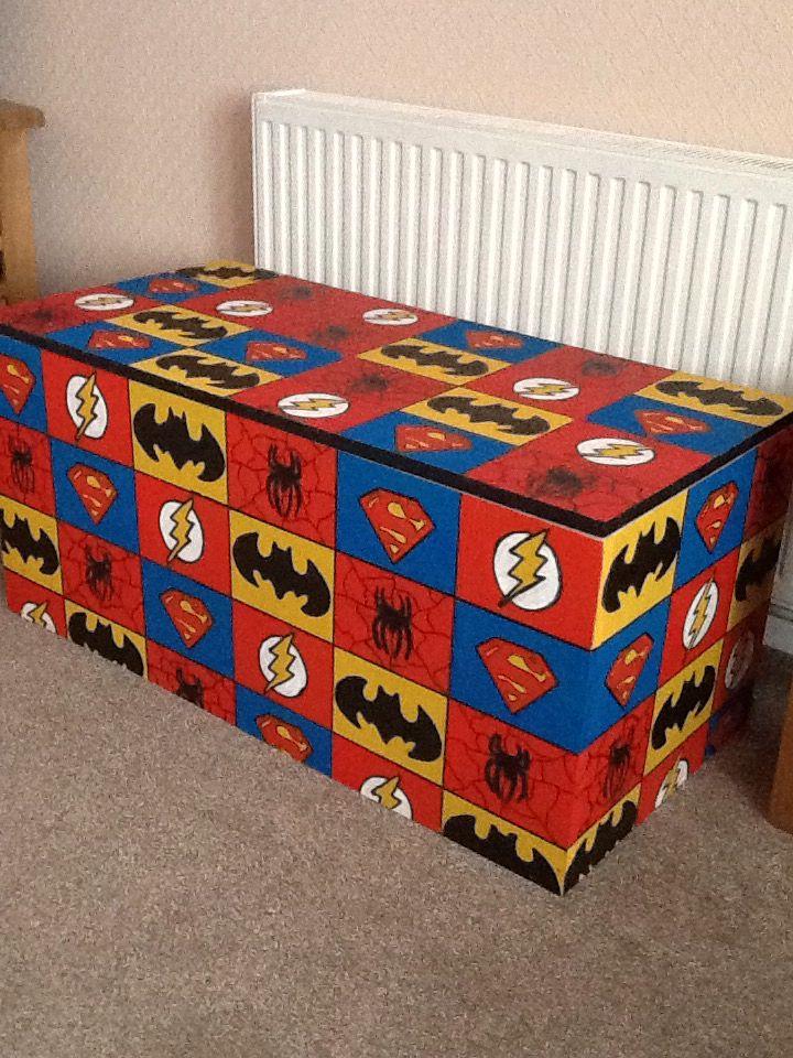 Western Bedroom Tank Toy Box Or: Super Hero Toy Box, Cool Woodwork, Handmade