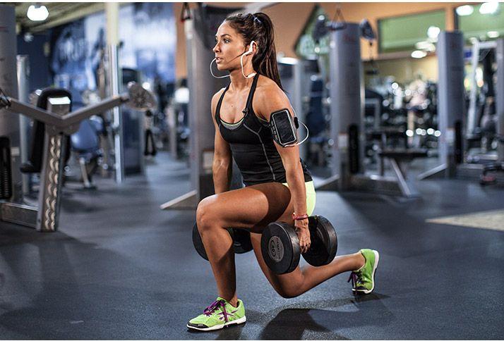Complexes de reforço muscular com halteres para corredores - Corre Salta e Lança