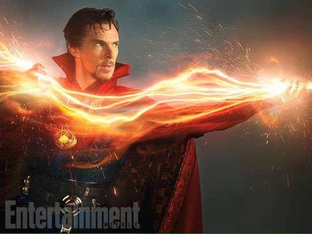 Benedict Cumberbatch as Doctor Strange!