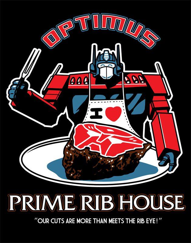 Optimus Prime Rib House by *ninjaink
