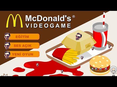 McDonalds Yönet -Beceriksiz Patron- Simülasyon Oyunları - YouTube