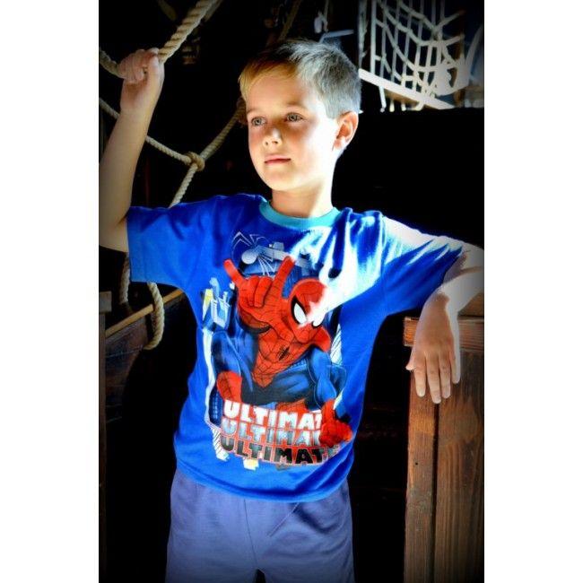 Pókember kék póló. Akciós áron 1299 Ft. Új gyerekruha webáruház.