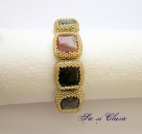haute couture designer Adelina Maries http://sicsiclasic.wordpress.com Bratara Sic si Clasic