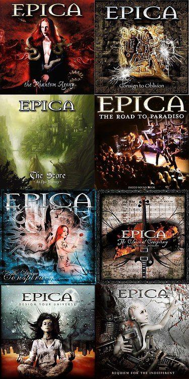EPICA Epic discography!