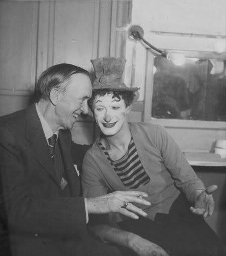 Stan Laurel en Marcel Marceau
