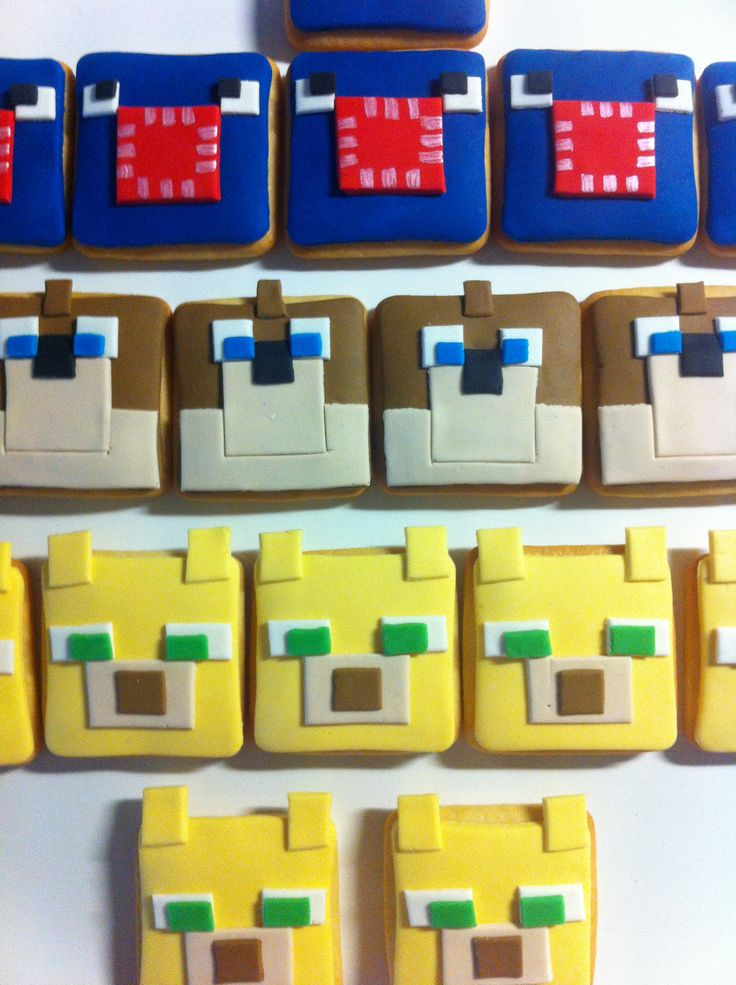 Minecraft Cookies.