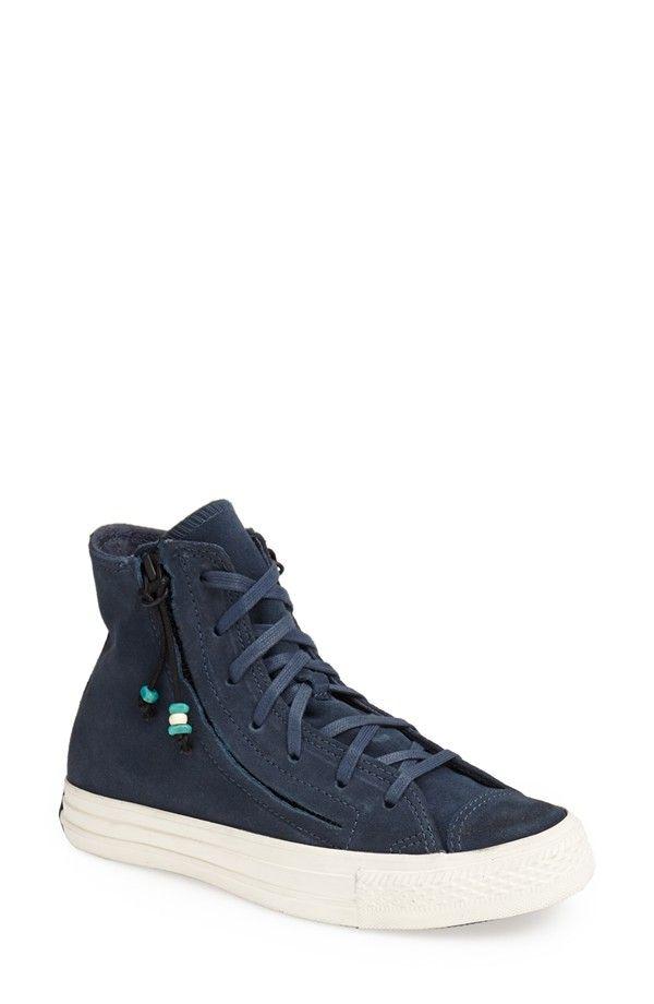 Chuck Taylor® All Star® 'Double Zip Hi' Sneaker (Women). Converse Chuck  TaylorEspadrilles FemmesChuck TaylorsAll StarHigh TopsChaussures ...
