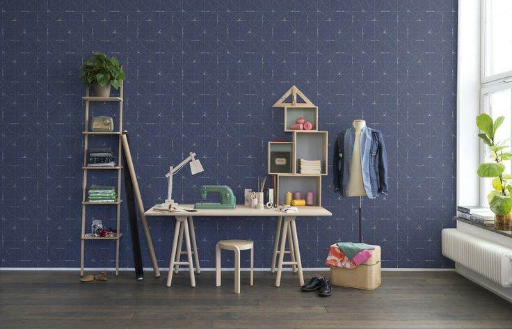 Wall mural R14114 Perfect Fit, Royal Blue