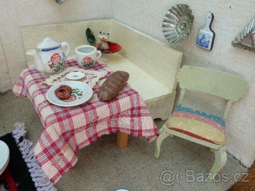 Nábytek pro panenky-pokojíček - 1